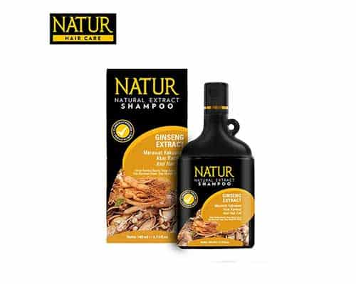 Shampo Terbaik untuk Masalah Rambut Rontok Natur Shampoo Gingseng Extract