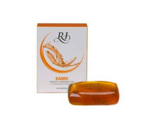 RJ Kanro Antiseptic Transparent Soap