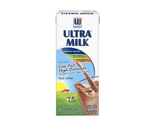 Ultra Milk Low Fat High Calcium - Susu Berkalsium Tinggi untuk Kesehatan Tulang