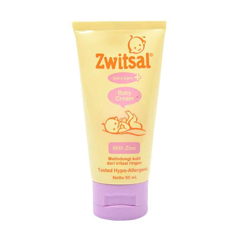 1. Zwitsal Baby Extra Care Cream With Zinc