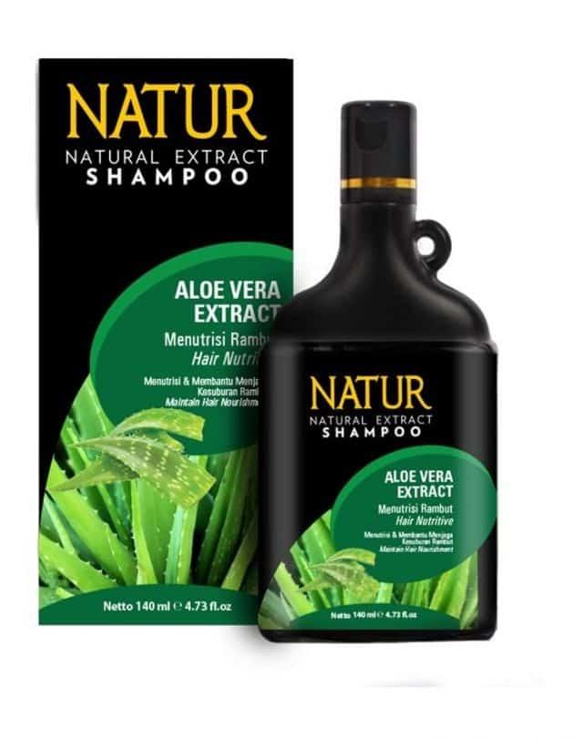 Shampo untuk Memanjangkan Rambut Natur Natural Extract Shampoo – Aloe Vera Extract