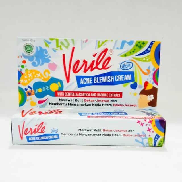 Penghilang Bekas Jerawat Verile Acne Blemish Cream