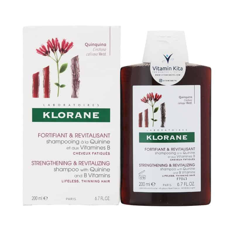 Shampo untuk Memanjangkan Rambut Klorane Shampoo With Quinine And B Vitamins