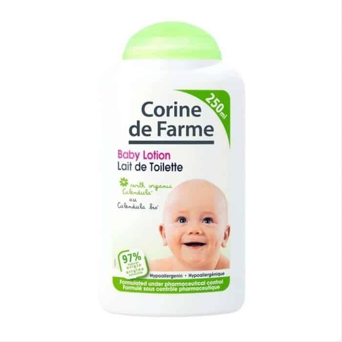 9. Corine De Farme Baby Lotion Lait De Toilette