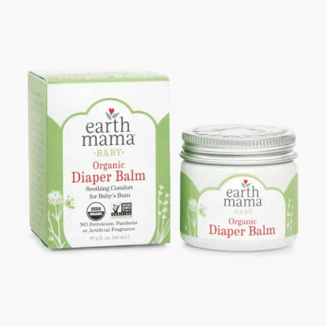 9. Earth Mama Baby Organic Diaper Balm