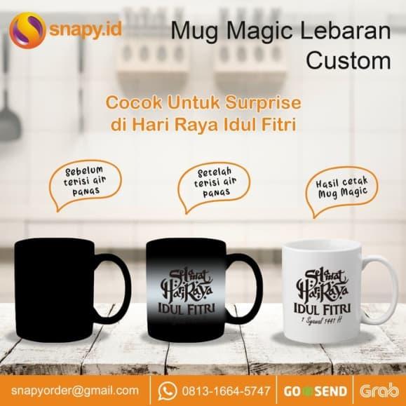 Kado Ulang Tahun untuk Shabat Wanita Mug Magic Custom