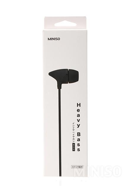 Headset Miniso Terbaik - Miniso Heavy Bass Earphones
