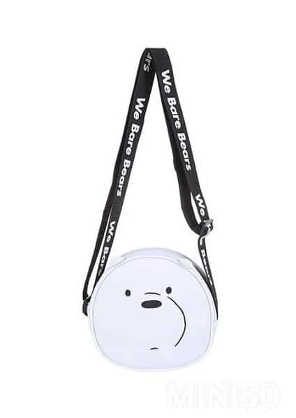 Miniso Sling Bag Karakter We Bare Bears