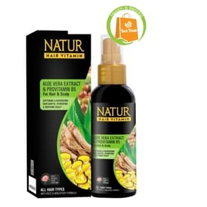 Vitamin Terbaik untuk Rambut Kering Natur Hair Vitamin