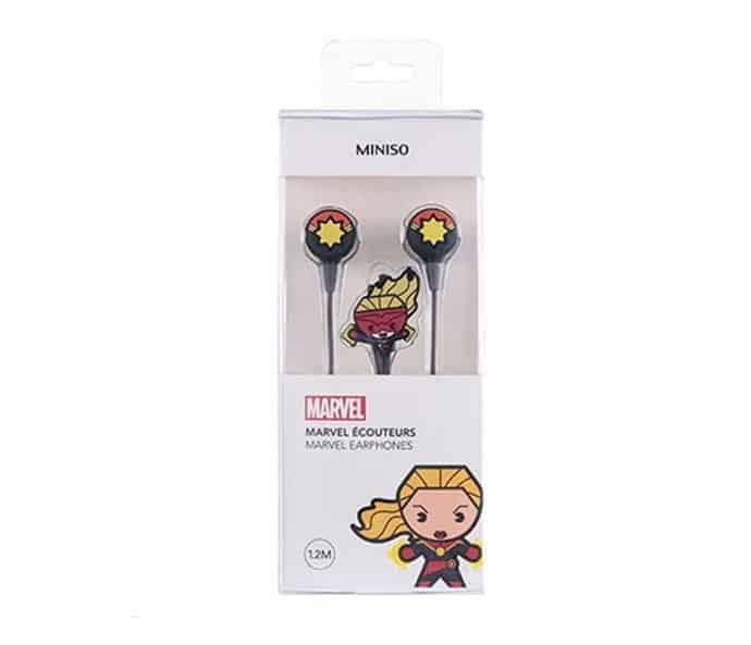 MINISO MARVEL Terbaik Epoxy Earphones TSD-M02