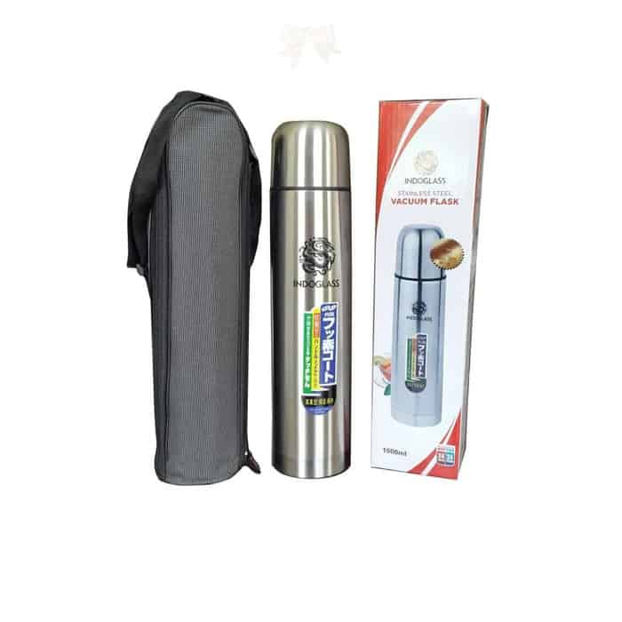 Botol Minum Indoglass Stainless Steel Vacuum