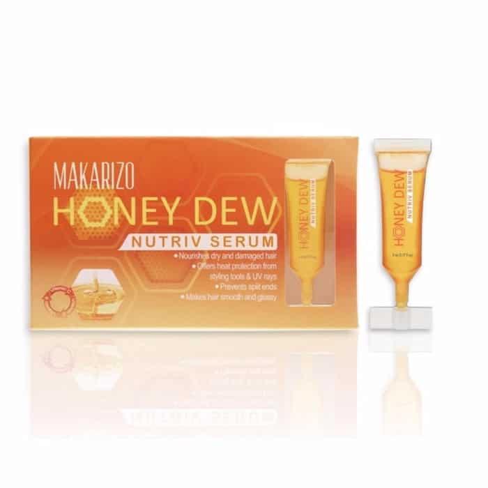 Vitamin Terbaik untuk Rambut Kering Makarizo Honey Dew Nutriv Serum