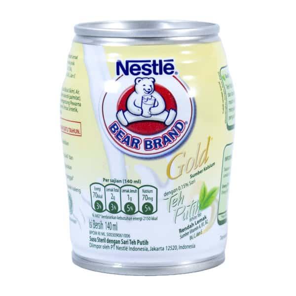 Susu Rendah Lemak untuk Diet Terbaik Bear Brand Gold Teh Putih