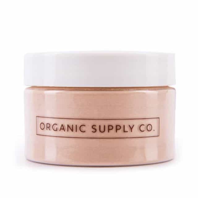 Masker Organik Terbaik Organic Supply Co. French Pink Clay