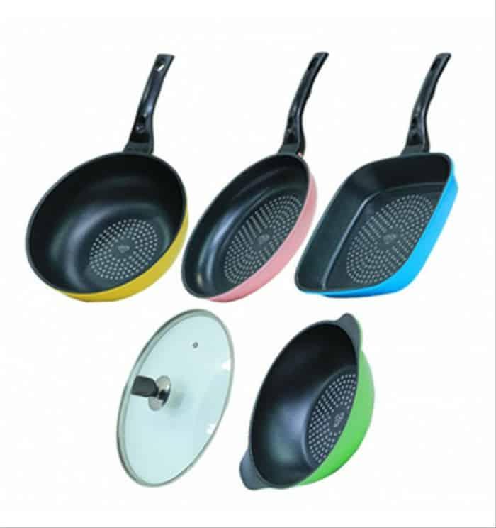 6. Intercooc Diamond Pan Set
