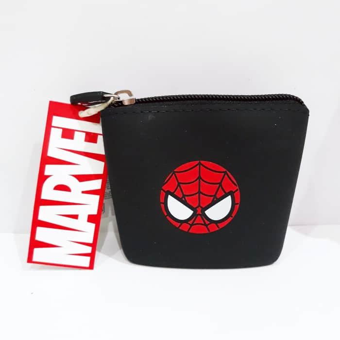 Dompet Miniso Terbaik Miniso Marvel X Silicon Coin Purse Avenger Wallet