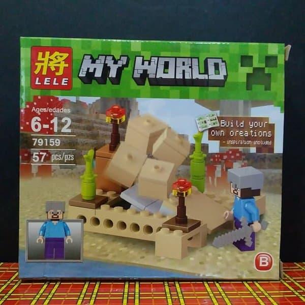 Hadiah Ulang Tahun untuk Anak Lego My World Minecraft Building Bloks