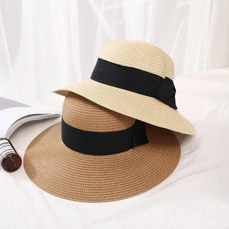 Katalog Produk Miniso Terbaik - Miniso Topi Jerami Dengan Busur
