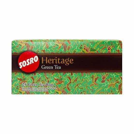 Teh Hijau untuk Diet Terbaik Sosro Heritage Green tea