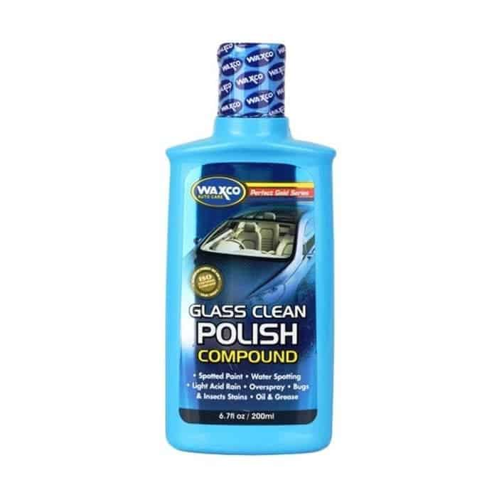 Cairan Pembersih Kaca Mobil Terbaik Waxco Glass Clean and Polish Compound