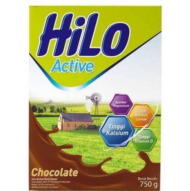 Susu Rendah Lemak untuk Diet Terbaik Hilo Active Chocolate