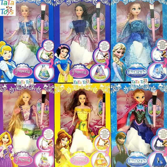 Hadiah Ulang Tahun untuk Anak Perempuan Boneka Barbie New Princess Skirt Doodle