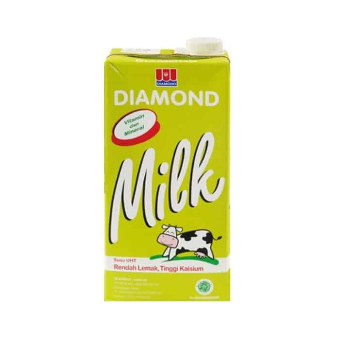 Susu Rendah Lemak untuk Diet Terbaik Diamond Low Fat Milk