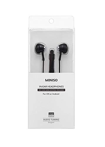 Headset Miniso Terbaik - Miniso Earphones With Mic Excellent Sound Quality