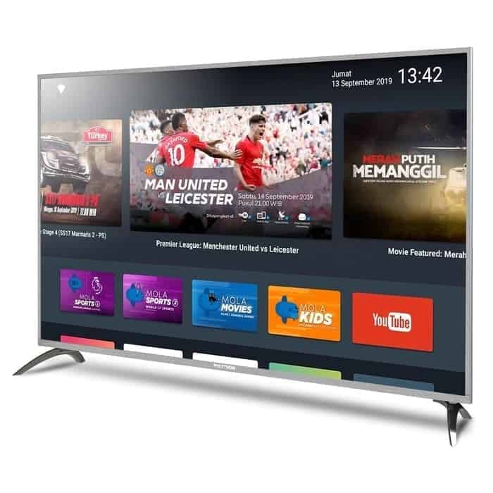 9. Smart Tv Terbaik 3 Juta : POLYTRON Smart TV 32 Inch PLD 32AD1508