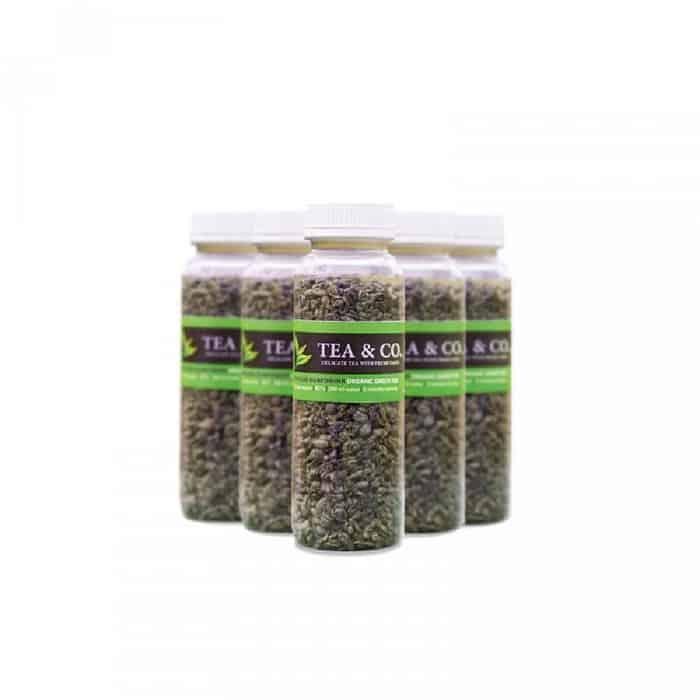 Teh Hijau untuk Diet Terbaik Tea & Co Organik Green Tea