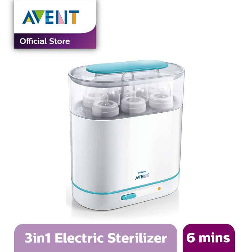 Sterilizer Botol Susu Bayi Terbaik - Philips Avent 3-in-1 Electric Steam Sterilizer