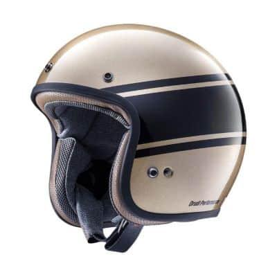 Helm Half Face Terbaik Aria classic MOD bandage