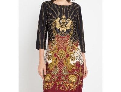 Baju Batik Wanita Terbaik Arjuna Weda Sackdress Batik Manuk Kembar