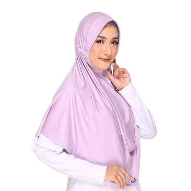 Hijab Instan Terbaru Terbaik Elzatta Bergo Zaria Sahara L - 617