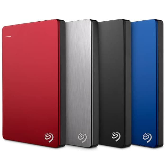 Hard Disk Eksternal Terbaik Seagate backup plus slim 1 TB
