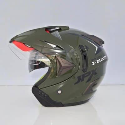 Helm half face Terbaik JPX Z blast