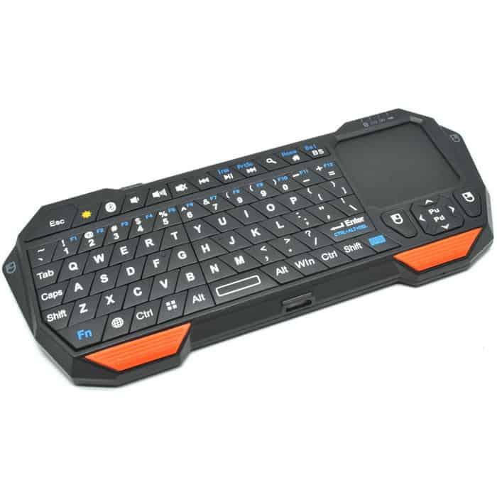 Keyboard Wireless Terbaik - Seenda mini bluetootch keyboard with touchpad