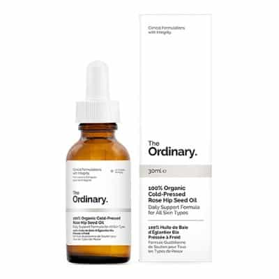 Skincare Terbaik The ordinary 100% organic cold pressed rosehip seed oil