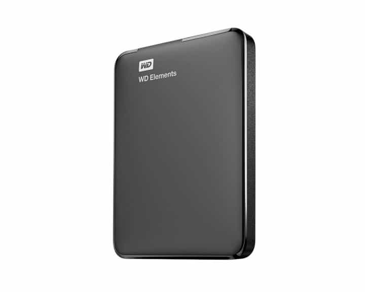 Hard Disk Eksternal Terbaik Western digital WD element portable 1 TB