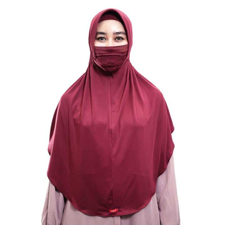 Hijab Instan Terbaru Terbaik Zoya Covida Bergo