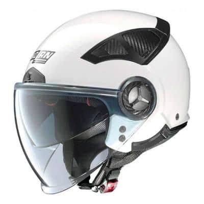 Helm Half Face Terbaik Nolan N33 evo classic metal