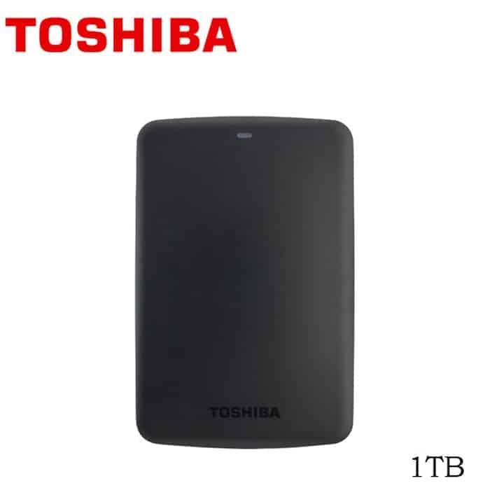 Hard Disk Eksternal Terbaik Toshiba canvio basic 1TB