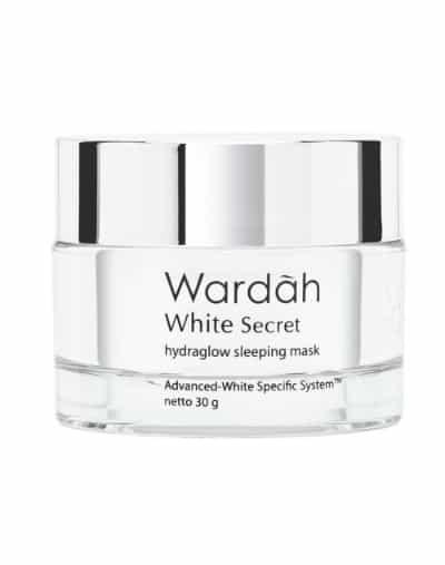 Sleeping Mask Terbaik Wardah white secret hydraglow