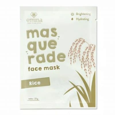 Sheet Mask Terbaik Emina Masquerade Face Mask Rice