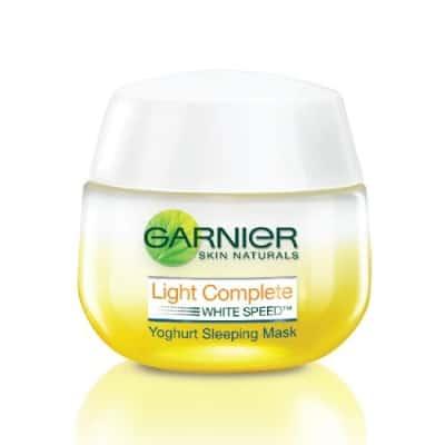 Sleeping Mask Terbaik Garnier light complete night yoghurt