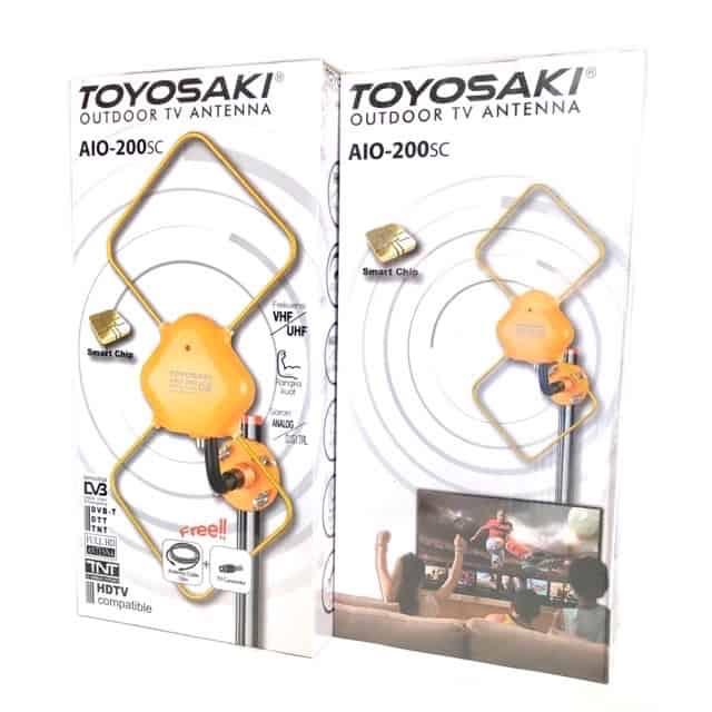 Antena TV Terbaik Toyosaki AIO 200 (Indoor&Outdoor)