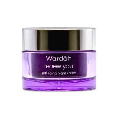 Skincare Terbaik Wardah renew you night cream