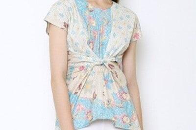 Baju Batik Wanita Terbaik Jayashree Batik Blouse Avni