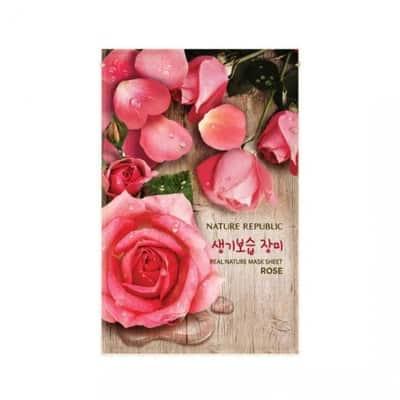 Sheet Mask Terbaik Nature republic real nature mask sheet rose