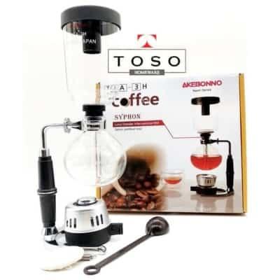 Mesin Pembuat Kopi (Coffee Maker) Terbaik Akebonno syphon coffee maker